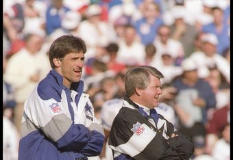Dave Wannstedt and Jimmy Johnson.