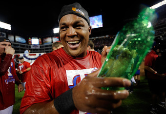 Adrian Beltre says he chose the Rangers because he felt they had the best chance of reaching the World Series. Well played, Adrian, well played.