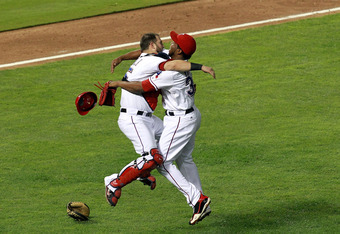 Neftali Feliz (right) saved all three wins in the ALDS and has been dominant throughout the postseason.