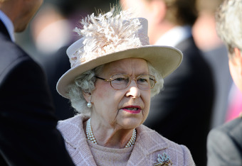 The Queen gets 'nighted'