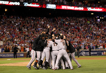 The 2011 Cardinals in many ways resemble the 2010 Giants, who beat the Rangers to win the World Series.