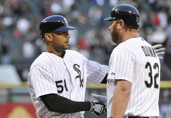 Rios and Dunn's contracts are a drain on the White Sox.