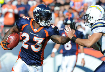 Can McGahee run for 1,300 yards this year?  Doubt it.