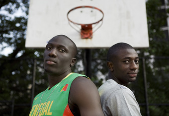 We might see Aziz (L) and Assane (R) in the NBA Soon...