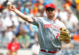 Has Scott Rolen played his last game as a Red?