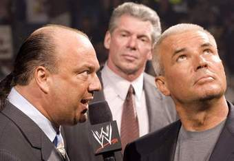 A talent trade COULD work; Vince and Paul Heyman traded talent years ago during the MNW era; Bischoff just offered talent better contracts (**cough cough** Vinnie Jr.)
