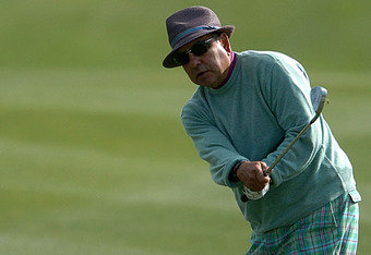 January 20, 2007: Cheech on the PGA TOUR at the Bob Hope Chrysler Classic 4th Round
