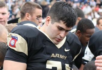 West Point Guard No. 71 Matt Villanti