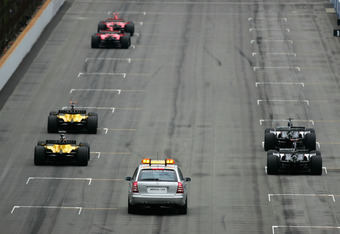 The 2005 USGP starting grid