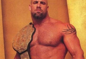 Goldberg as World Heavyweight Champion. Source - http://www.lopforums.com/showthread.php/4783-The-Bright-Side-50-Greatest-World-Champions-in-Modern-American-History-50