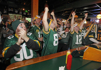 The natural habitat for some Packers fans.