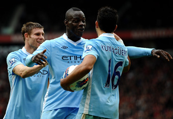 James Milner and Sergio Aguero Were Good, But It Was Mario Balotelli Who Caused Fireworks for Manchester City