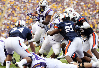 Auburn defense overpowered by experience of LSU offense