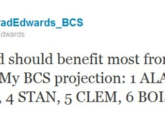 bcs unfair Bob stoops called out the bcs for unfairly keeping his team from playing last season, an argument that defied logic, facts, and a beautiful history of his oklahoma teams shafting others thanks to a dying system.
