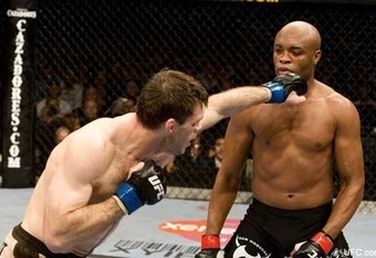 UFC MW Champ Anderson Silva could be literally untouchable.