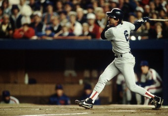 Buckner swings for the fences in the 1986 World Series