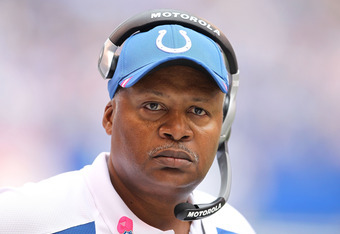 Actually, Jim Caldwell never blinks.  Seriously.  Someone forgot to program the ability to blink into his CPU.