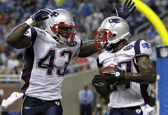 James Ihedigbo (43) and Kyle Arrington (27) have stabilized the Patriots secondary
