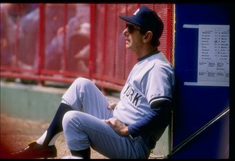 Drinking issues and the 1980s aside, Billy Martin has been a key part in a couple of Yankee World Series
