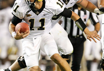 Rodgers has become a running quarterback for the Commodores.