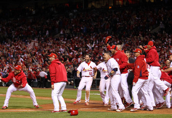 If the Cardinals can pull this thing off, David Freese is pretty much a lock for World Series MVP