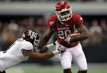 After a 20-year break, the Aggies and Razorbacks are conference foes again.