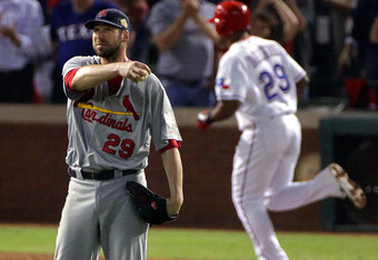 Here's hoping Chris Carpenter spews even more expletives than usual in tonight's Game 7 start.
