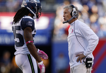 Richard Sherman will fill the starting role at cornerback with Marcus Trufant and Walter Thurmond out for the season.