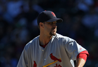 Adam Wainwright missed all of 2011 recovering from Tommy John surgery
