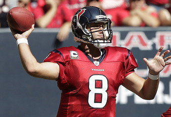 Schaub Keeps Houston rolling!