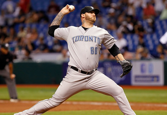 Jon Rauch's $3.75 million 2012 option has been declined by the Toronto Blue Jays.