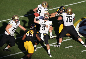 QB Tyler Hansen leads the Buffs offense