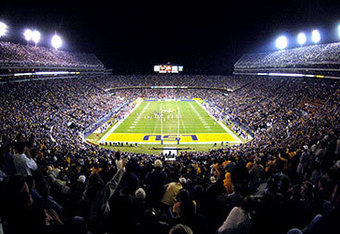 Tiger Stadium at night is one of the greatest atmospheres in all of sports.