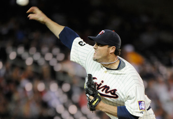 MINNEAPOLIS, MN - SEPTEMBER 7: Joe Nathan #36 of the Minnesota Twins delivers a pitch against the Chicago White Sox in the ninth inning on September 7, 2011 at Target Field in Minneapolis, Minnesota. The Twins defeated the White Sox 5-4. (Photo by Hannah