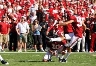 Jeremy Shelley, Alabama's other kicker, is the only viable option left for the Tide.