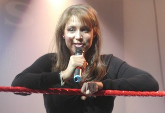 Stephanie McMahon (Photo by MShake3 at Wikimedia Commons)