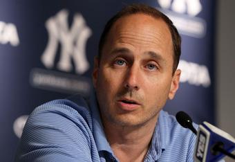 Yankees' GM Brian Cashman