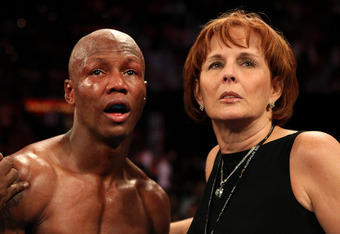 Kathy Duva with Zab Judah