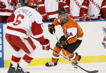 UW's Justin Schultz, the nation's top scoring defenseman