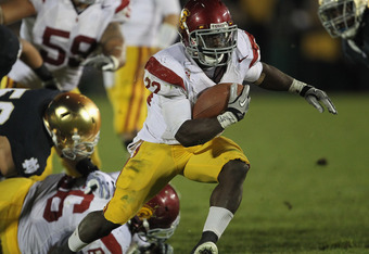USC RB Curtis McNeal has becoming USC's leading rusher and starter