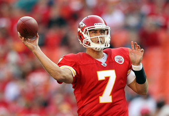 Chiefs QB Matt Cassel hopes to lead his team to their fifth win of the season this weekend.