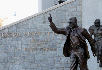 Once considered a symbol of greatness, many fans are now calling for Joe Paterno's Statue to be removed from campus.
