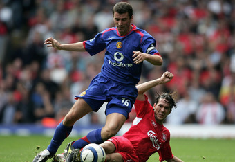 Roy Keane: the ultimate midfield powerhouse