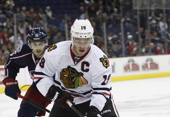 Toews dazzled with three points against Columbus on Thursday.