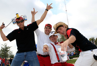 Georgia tailgaters are up to see their team win the East.