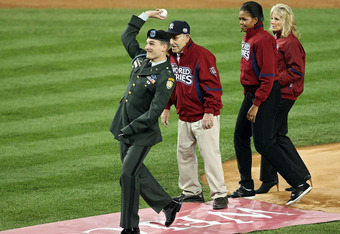 Captain Odierno at 2009 World Series