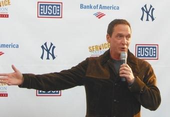Yankee Broadcaster David Cone
