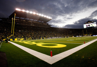 Friendly Autzen Stadium