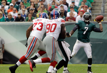 Don't be surprised if the Giants take it to Michael Vick next week