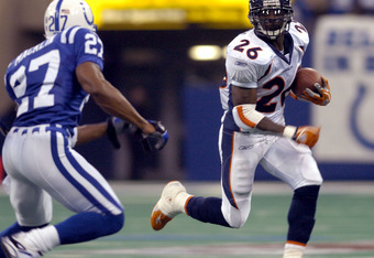 When he played for the Broncos under Mike Shanahan, Clinton Portis averaged 5.5 yards per carry. The highest Terrell Davis ever averaged was 5.1 yards per carry.